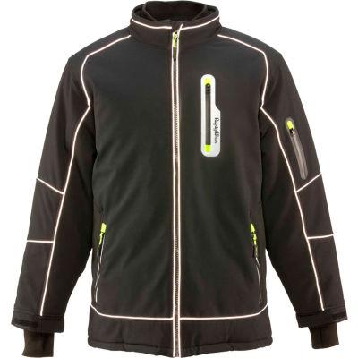 RefrigiWear Extreme Softshell Jacket, Black, -60°F Comfort Rating, XL