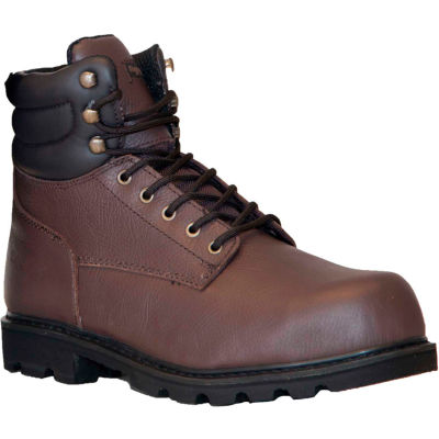 RefrigiWear Classic Leather Boots, Brown, -15°F Comfort Rating, Size 8.5