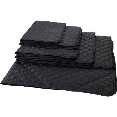 RefrigiWear RW Protect Insulated Heavyweight Blanket, Black, 6' x 8'