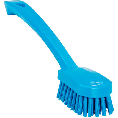 Vikan 30883 Small Utility Brush- Medium, Blue