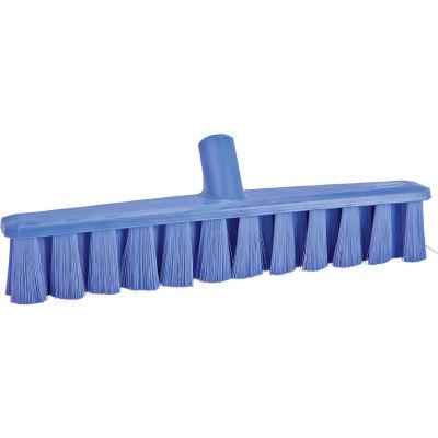 """Vikan 31718 16"""" UST Push Broom- Soft, Purple"""