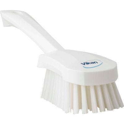 Vikan 41905 Short Handle Utility Brush- Medium, White