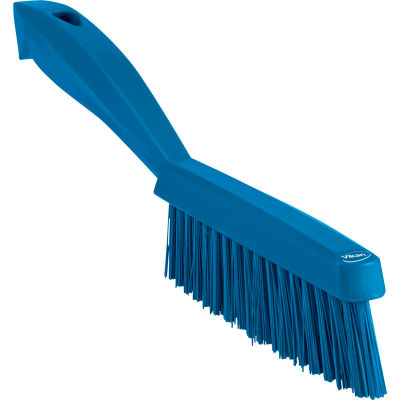 Vikan 41953 Narrow Utility Brush- Extra Stiff, Blue