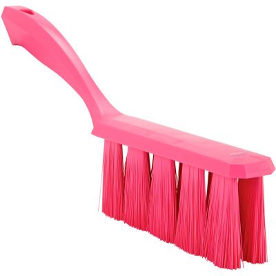 Vikan 45851 UST Bench Brush- Medium, Pink