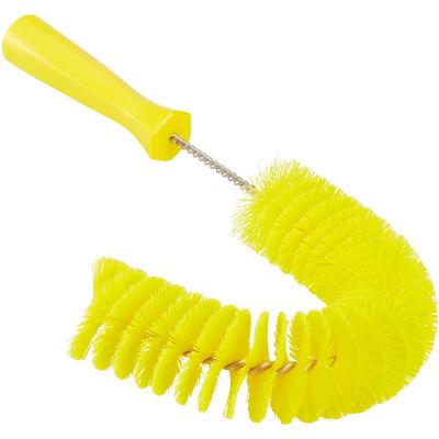 Vikan 53726 Hook Brush- Medium, Yellow
