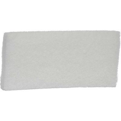 Remco 5525 Scrub Pad- Fine, White