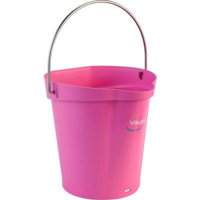 Vikan 56881 1.5 Gallon Bucket, Pink