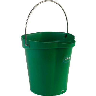 Vikan 56882 1.5 Gallon Bucket, Green