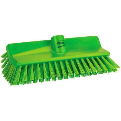 Vikan 704777 High-Low Brush- Medium, Lime