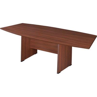 "Regency Conference Table - Boat Shape 95"" x 43"" - Java - Sandia Series"
