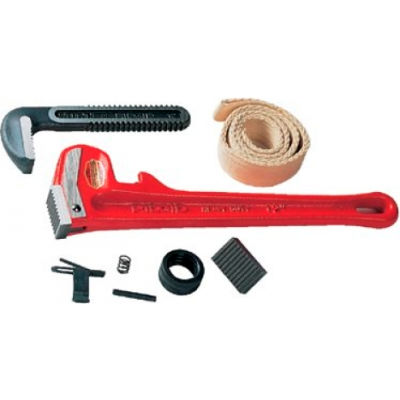 """RIDGID® 31700 #E24 3"""" Capacity Pipe Wrench Replacement  Heel Jaw & Pin Assembly"""