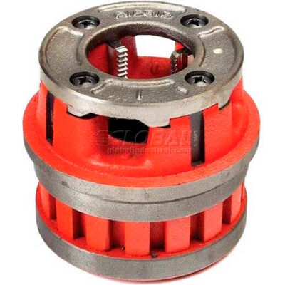 Manual Threading/Pipe and Bolt Die Heads Complete w/Dies, RIDGID 37405
