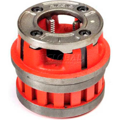 RIDGID 37530 Manual Threading/Pipe and Bolt Die Heads Complete w/Dies