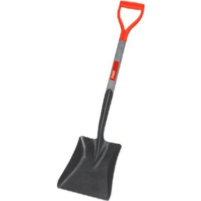"RIDGID® 52315 9-3/4"" Square Point Shovel W/ 27"" D-Handle"