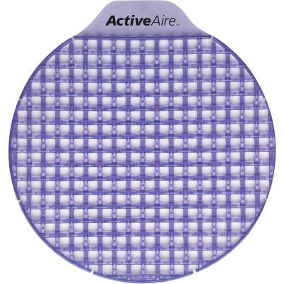 GP ActiveAire Lavender Low Splash Deodorizer Urinal Screen, 12 Screens/Case - 48262