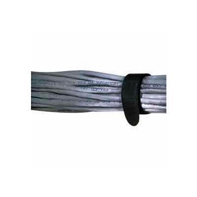 "Rip-Tie, 3/4"" x 11"" EconoWrap, M-11-E20-BK, Black, 20 Pack"