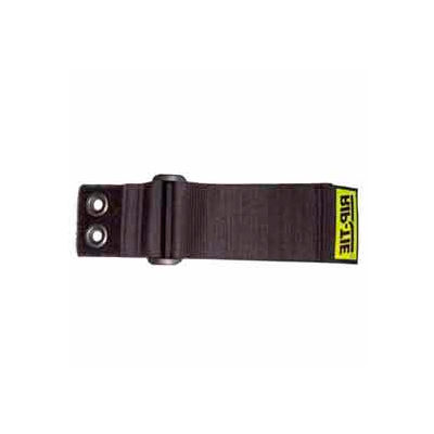 """Rip-Tie, 1"""" x 7"""" CinchStrap-EG, N-07-G10-BK, Black, 10 Pack"""