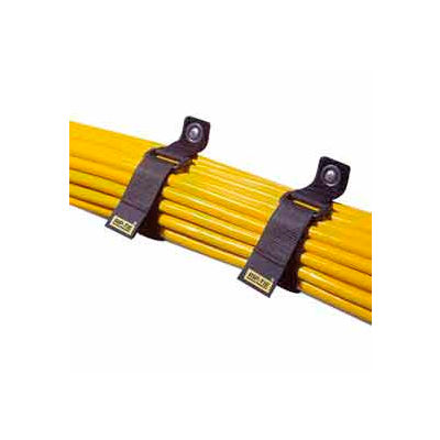 "Rip-Tie, 2"" x 30"" CinchStrap, O-30-010-Y, Yellow, 10 Pack"
