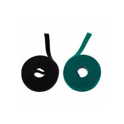 "Rip-Tie, 3/4"" x 15' WrapStrap, W-15-MRL-GN, Green, 1 Roll"