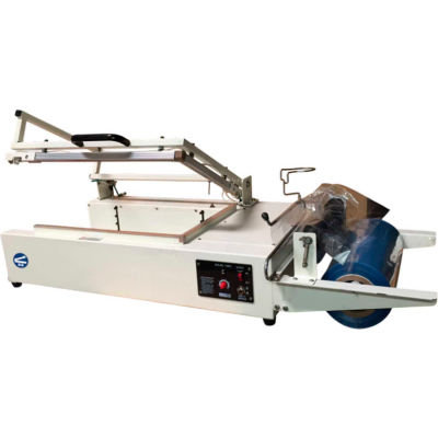 "Sealer Sales W-350L W-Series L-Bar Sealer with Film Roller, 14"" x 20"""