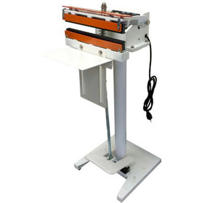 """Sealer Sales W-450DTS 18"""" PTFE Coated Direct Heat Foot Sealer with 15mm Serrated Seal Width"""
