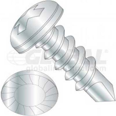 8 X 1-1/2 Phillips Pan Head Tek Screw, Package Of 50