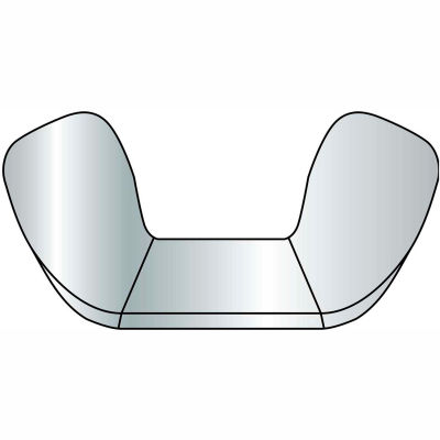 3/8-16 Wing Nuts - 18-8 Stainless Steel Pkg Of 5