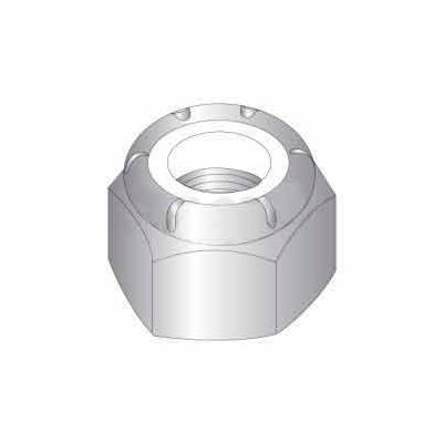 8mm X 1.25 Ic Nylon Insert Locknuts - 18-8 Stainless Steel Pkg Of 12
