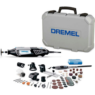 Dremel® 4000-6/50 4000-Series Variable Speed Rotary Tool Kit w/ 6 Attachments & 50 Accessories