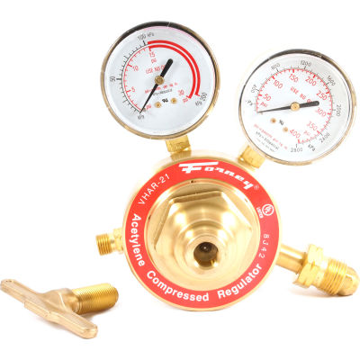 Industrial Pro® 100450 Victor® Style CGA-510 Acetylene Regulator, 450 Series