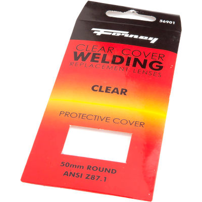 Industrial Pro® Welding Lens, 50mm Round, Clear