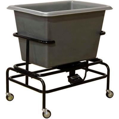 Royal Basket-Poly Scale Cart, 6 Bu, Gray - R06-GRX-STA-3UNN