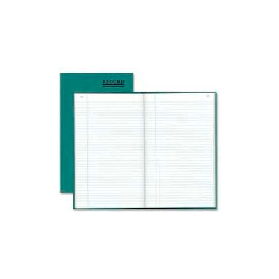 """Rediform® Record Book, Record Ruled, 7-1/4"""" x 12-1/4"""", Emerald Cover, 150 Pages/Pad"""