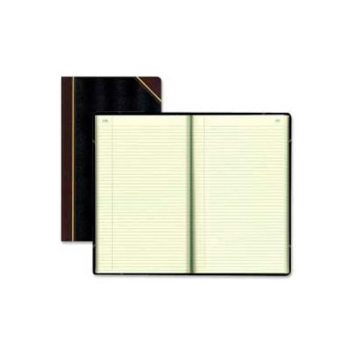 """Rediform® Record Book, Record Ruled, 8-3/4"""" x 14-1/4"""", Black Cover, 500 Pages/Pad"""
