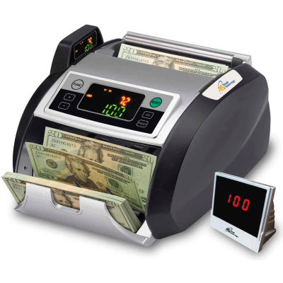 Royal Sovereign® Money Counter RBC-2100 UV, MG, IR Counterfeit Detection And External Display