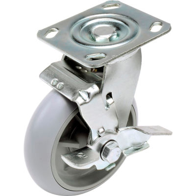 "Global Industrial™ Replacement 6"" Swivel Caster for Hotel Cart (Model 603575)"