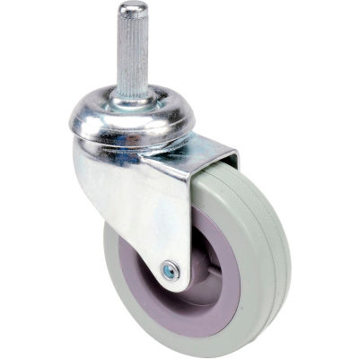 """Global Industrial™ Replacement 4"""" Swivel Caster for Janitor Cart (Models 603574, 603590)"""