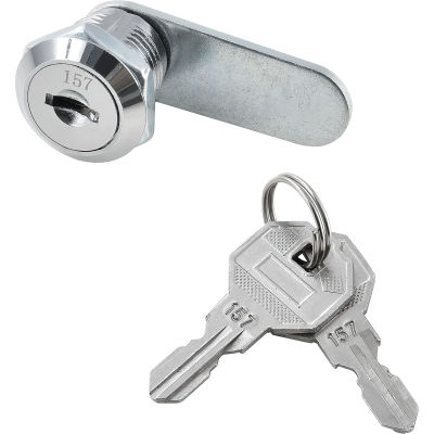 Replacement Lock & Key Set For Outer Door of Global Industrial™ Narcotics Cabinets Key# 157