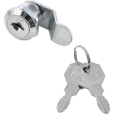 Replacement Lock & Key Set For Inner Door of Global Industrial™ Narcotics Cabinets Key# 158