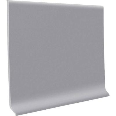"""Pinnacle Rubber Wall Base 4"""" x .125"""" x 48"""" Slate"""