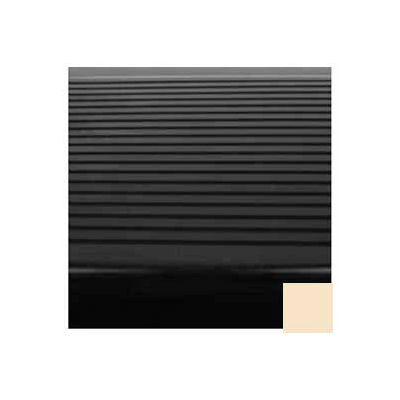 "Stair Tread Rubber Square Nose 48""L - Almond"