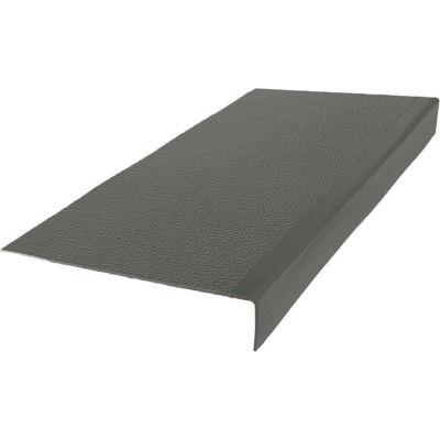 "Rubber Textured Profile Square Nose 12.63"" x 48"" Charcoal"
