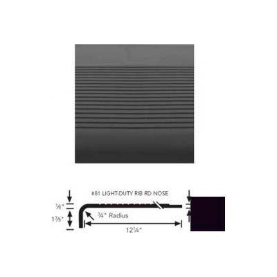 "Stair Tread Rubber Square Nose 54""L - Black"