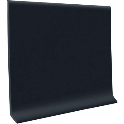 "Vinyl Wall Base 6"" x 48"" Black"