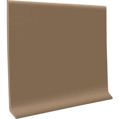 "Thermoplastic Rubber Wall Base 6"" x 48"" Fawn"