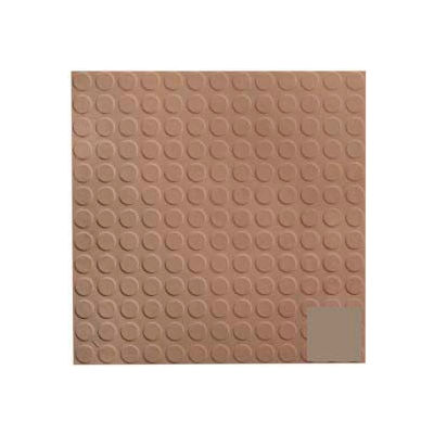 Rubber Tile Low Profile Circular Design 50cm - Fig