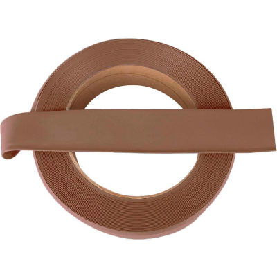 """Vinyl Wall Base Coil 4"""" x .125"""" x 120' Toffee"""