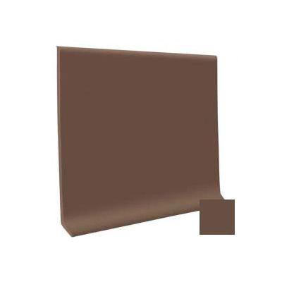 """Cove Base Pinnacle Rubber 4""""X1/8""""X120' Coil - Light Brown"""