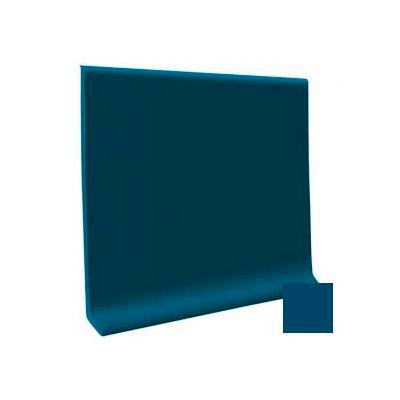 """Cove Base Pinnacle Rubber 4""""X1/8""""X120' Coil - Blue"""