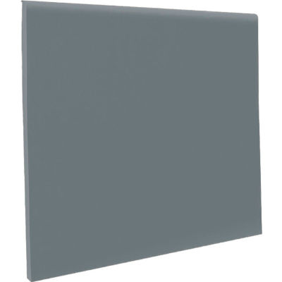 Wall Cove Base Coil Thermoplastic Rubber Dark Gray 4 in x 120 ft. x 1//8 in